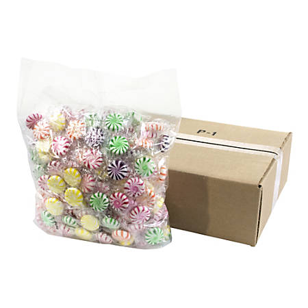 Quality Candy Assorted Fruit Starlights, 5-Lb Bag