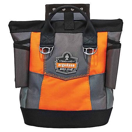 Ergodyne Arsenal® 5527 Premium-Topped Tool Pouch, Hinge, Orange