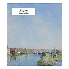 Retrospect Alfred Sisley Monthly Desk Calendar