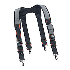 Ergodyne Arsenal Tool Belt Suspenders Gray