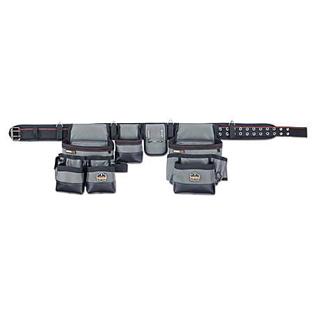 Ergodyne Arsenal Tool Belt, 34-Pocket, Large, Gray, 5504