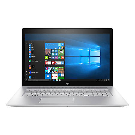 "HP ENVY 17-ae110nr Laptop, 17.3"" Touch Screen, Intel® Core™ i7, 12GB Memory, 1TB Hard Drive, Windows® 10 Home"