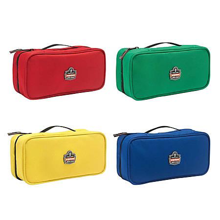 "Ergodyne Arsenal Buddy Organizer Kit, Large, 10""L x 4-1/2""W x 3-1/2""H, Red; Green; Yellow; Blue, 5875K"