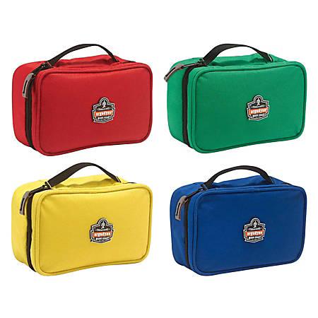 "Ergodyne Arsenal Buddy Organizer Kit, Small, 7-1/2""L x 4-1/2""W x 3""H, Red; Green; Blue; Yellow, 5876K"