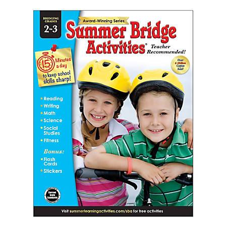 Carson-Dellosa Summer Bridge Activities® Workbooks, Grades 2-3, Pack Of 30 Workbooks