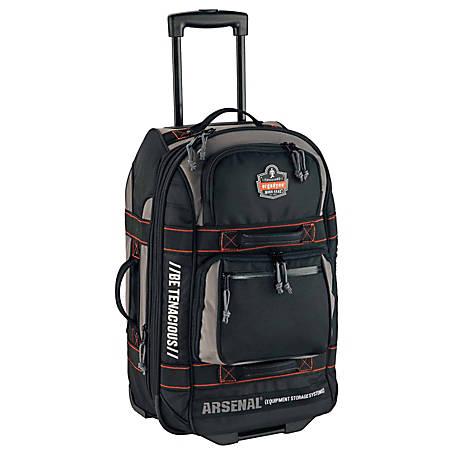 Ergodyne Arsenal® 5125 Carry-On Luggage, Black Item # 7314952