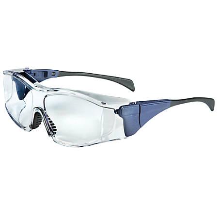 Ambient OTG Eyewear, Clear Lens, Polycarbonate, Dura-Streme, Blue Frame