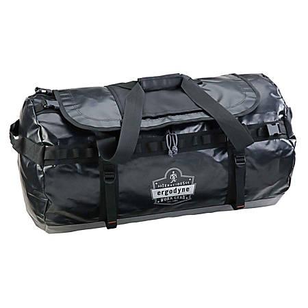"Ergodyne Arsenal 5030L Water-Resistant Duffel Bag, 15""H x 15""W x 30-1/2""D, Black"