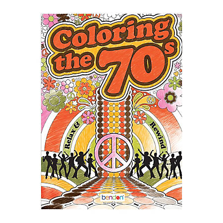 Bendon Adult Coloring Book 70s And 80s by Office Depot & OfficeMax