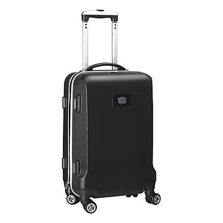 "Denco Sports Luggage Rolling Carry-On Hard Case, 20"" x 9"" x 13 1/2"", Black, Auburn Tigers"