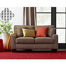 Serta Deep Seating Palisades Loveseat TanEspresso