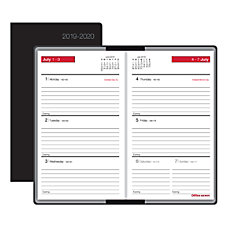 Office Depot Brand Weekly Academic Planner