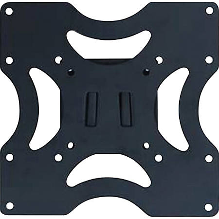 """DAC Wall Mount for Flat Panel Display - Black - 23"""" to 37"""" Screen Support - 80 lb Load Capacity"""