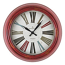 FirsTime Co Relic Wall Clock Distressed