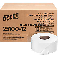 Genuine Joe 2 Ply Jumbo Roll