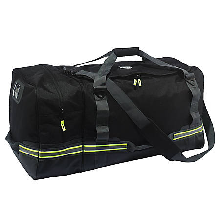 "Ergodyne Arsenal 5008 Fire And Safety Gear Bag, 16""H x 15-1/2""W x 31""D, Black"