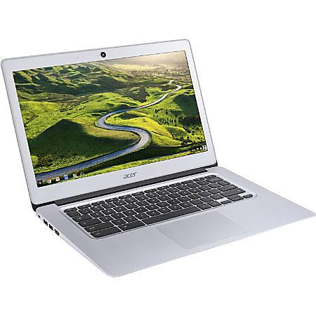 "Acer CB3-431-C99D 14"" Active Matrix TFT Color LCD Chromebook - Intel Celeron N3060 Dual-core (2 Core) 1.60 GHz - 4 GB LPDDR3 - 16 GB Flash Memory - Chrome OS - 1366 x 768 - ComfyView - Sparkly Silver"