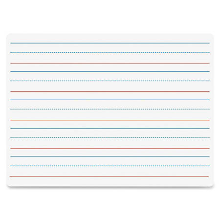 """Flipside Double-sided Dry Erase Board - 9"""" (0.8 ft) Width x 12"""" (1 ft) Height - White Surface - Rectangle - 1 Each"""