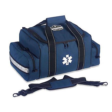 """Ergodyne Arsenal 5215 Large Trauma Bag, 8-1/2""""H x 12""""W x 19""""D, Blue"""