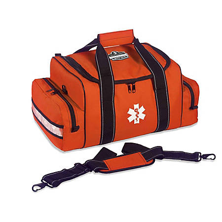 "Ergodyne Arsenal 5215 Large Trauma Bag, 8-1/2""H x 12""W x 19""D, Orange"