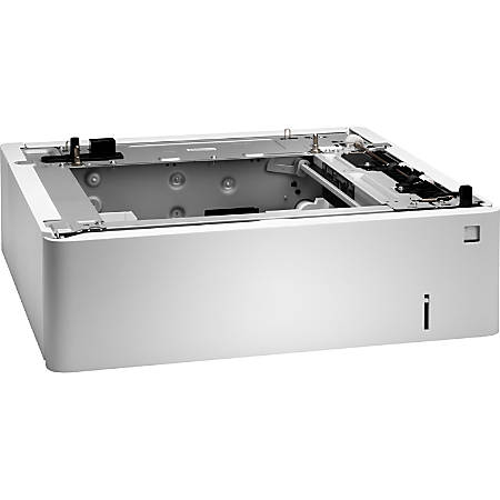 "HP Clr LaserJet500-Sheet Heavy Meda Tray - 1 x 550 Sheet - Plain Paper, Banner, Brochure Paper, Inkjet, Photo Paper, Borderless Media, Premium, Label, Card, Greeting Card, Index, ... - Custom 4"" x 6"", 8.50"" x 14"""