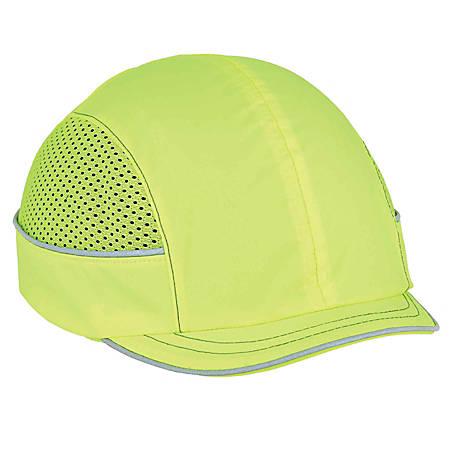 Ergodyne Skullerz Bump Cap, Micro Brim, Lime, 8950