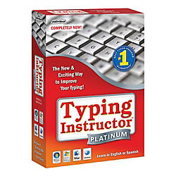 Typing Instructor Platinum For PCMac Traditional