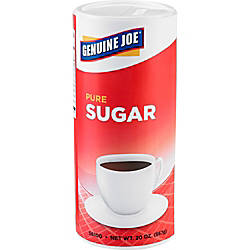 Genuine Joe 20 oz Sugar Canister