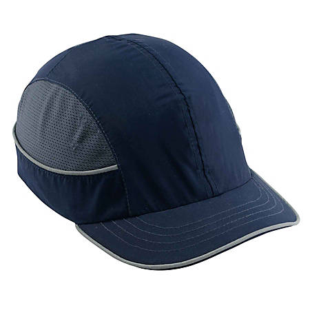 Ergodyne Skullerz Bump Cap, Short Brim, Navy, 8950XL