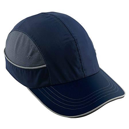 Ergodyne Skullerz Bump Cap, Long Brim, Navy, 8950XL