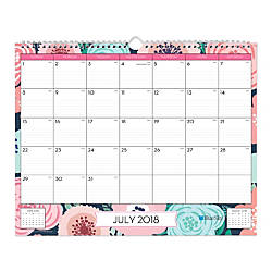 Blue Sky Monthly Wall Calendar 12