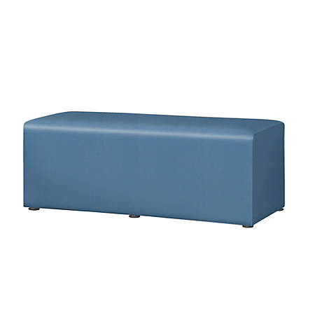"""Marco Rectangle Bench, 18""""H, Neptune"""