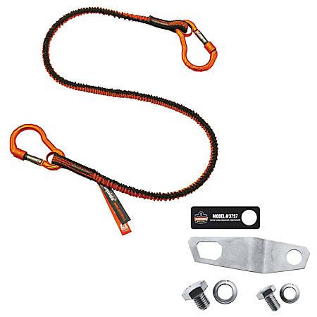 Ergodyne Squids® 3196 Grinder Tool Tethering Kit, 8 Lb, Orange/Gray