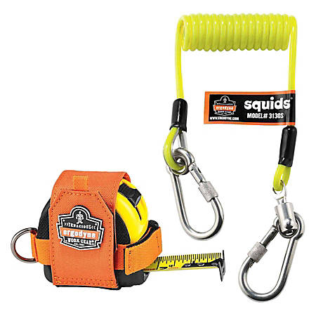 Ergodyne Squids® Tape Measure Tethering Kit, 2 Lb, Black