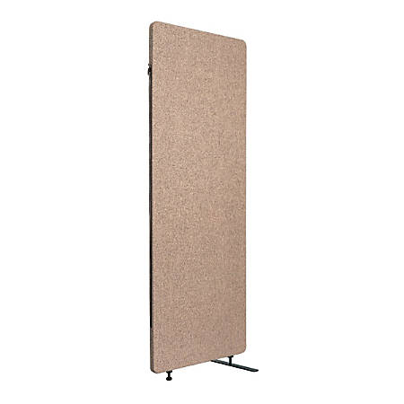 "Luxor RECLAIM Acoustic Privacy Expansion Panel, 66""H x 24""W, Desert Sand"