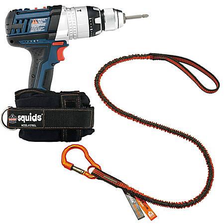 Ergodyne Squids® 3191 Power Tool Tethering Kit, 10 Lb, Orange/Gray
