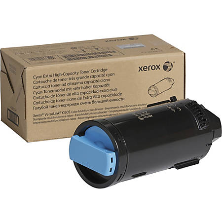 Xerox Toner Cartridge - Cyan - Laser - Extra High Yield - 16800 Pages - 1 Each