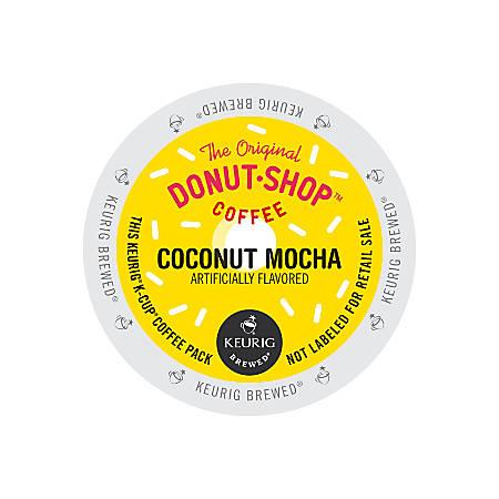 The Original Donut Shop Coconut Mocha Coffee K-Cup Pods, 1 Oz, Box Of 24 Pods