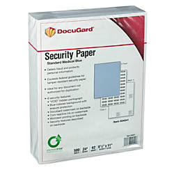 DocuGard Medical Prescription Papers Standard Medical
