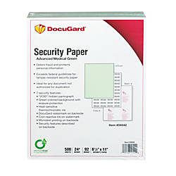 DocuGard Medical Prescription Papers Advanced Medical
