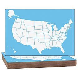 Flipside US Map Dry erase Board
