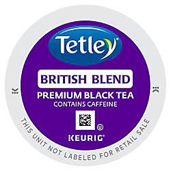 Tetley British Blend Black Tea Black