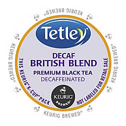 Tetley British Blend Decaf Black Tea