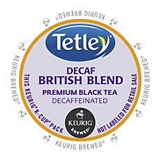 Tetley British Blend Decaf Black Tea