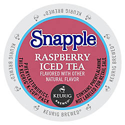 Snapple Raspberry Iced Tea Raspberry Flavor
