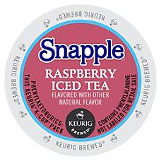 Snapple Raspberry Iced Tea Raspberry Flavor