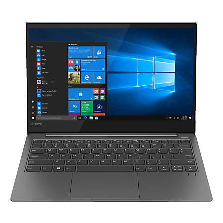 "Lenovo™ IdeaPad™ 730S Laptop, 13.3"" Screen,  Intel® Core™ i7, 16GB Memory, 512GB Solid State Drive, Windows® 10 Home, 81JB0003US"