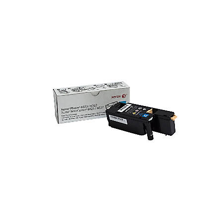 Xerox® WorkCentre 6027 Cyan Toner Cartridge (106R02756)