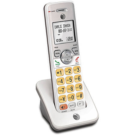 AT&T Accessory Handset with Caller ID/Call Waiting - Cordless - DECT - 50 Phone Book/Directory Memory