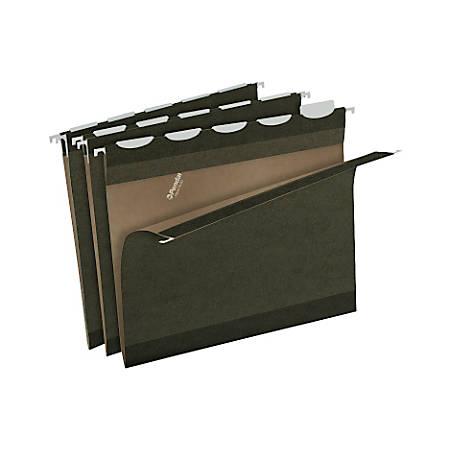 Pendaflex® Ready-Tab™ Reinforced Hanging Folders, Letter Size, Standard Green, Pack Of 20